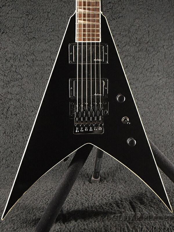 ギター, エレキギター Jackson KingV KVX-Gross Black- V,Electric Guitar,