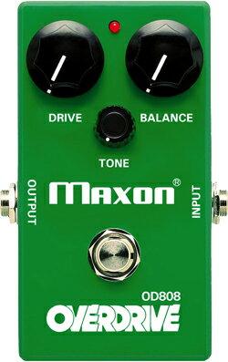ギター用アクセサリー・パーツ, エフェクター Maxon OD808 Overdrive OD-808hzm