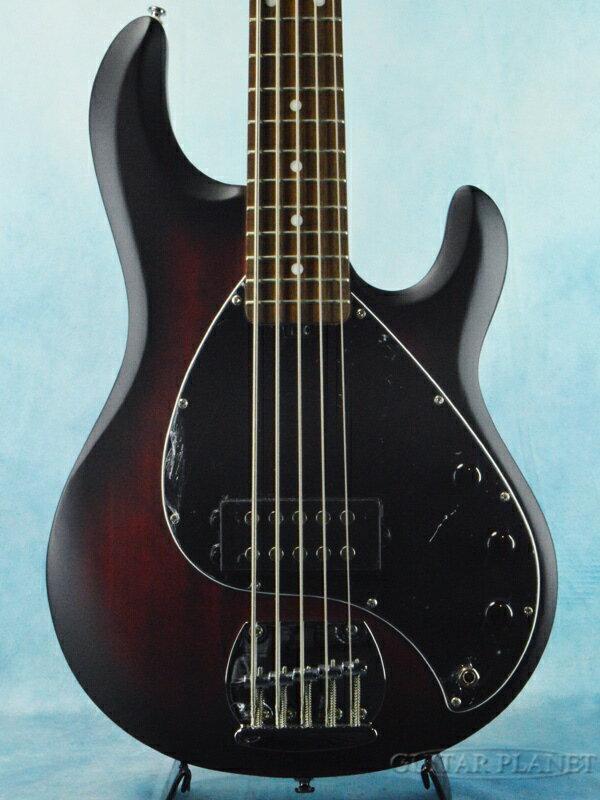 ベース, エレキベース Sterling by MUSIC MAN S.U.B Ray 5 -Ruby Red Satin- 5,Bass,