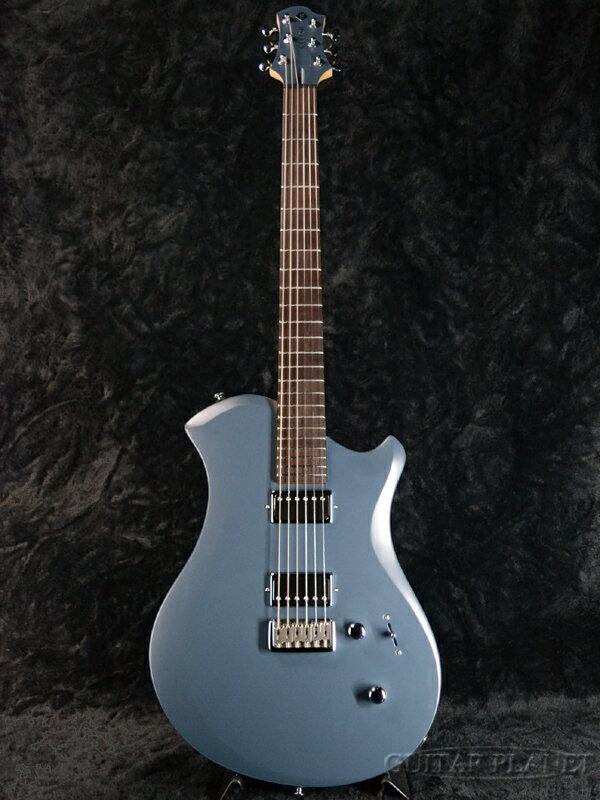 ギター, エレキギター Relish Guitars Rocky A MARY -Aluminum Flame- Blue,,Electric Guitar,