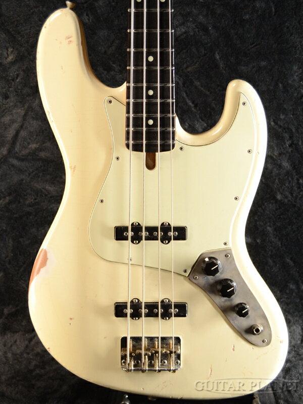 ベース, エレキベース Bluesman Vintage Eldorado -Olympic White- Jazz Bass,Relic,Aged,,,Electric Bass,