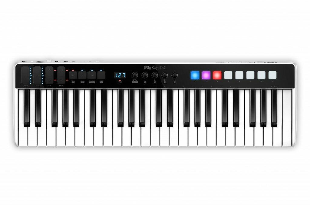 DAW・DTM・レコーダー, MIDIインターフェイス iRig Keys IO 49 IK Multimedia 49 MIDIIKiPhoneiPod TouchiPadMIDI Keyboard
