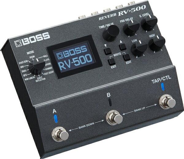 ギター用アクセサリー・パーツ, エフェクター BOSS RV-500 Reverb,Effector,RV500