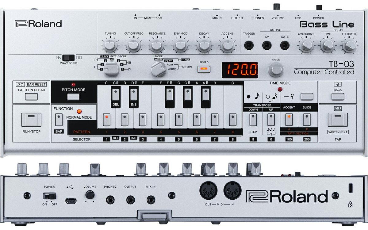 DAW・DTM・レコーダー, シーケンサー・リズムマシン Roland TB-03 Bass Line TB03