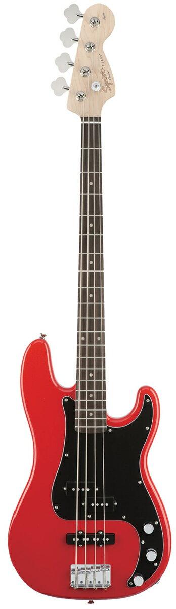 ベース, エレキベース Squier Affinity PJ Bass Race Red ,Precision Bass,Electric Guitar,