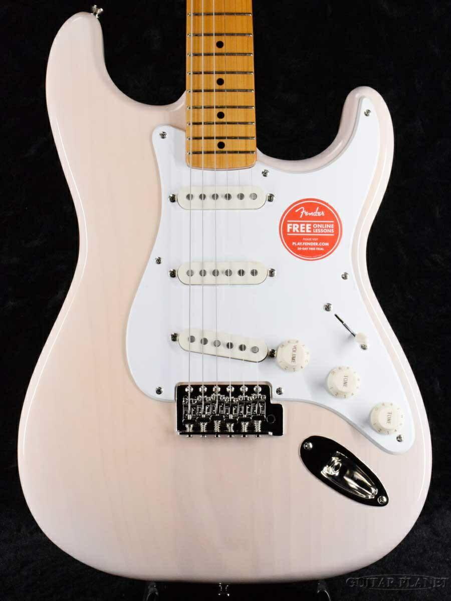 ギター, エレキギター Squier Classic Vibe 50s Stratocaster -White Blonde Maple- Fender,,Electric Guitar,