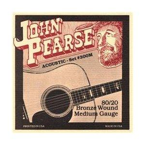 ギター用アクセサリー・パーツ, アコースティックギター弦 John Pearse 13-56 Bronze Medium 300M,String