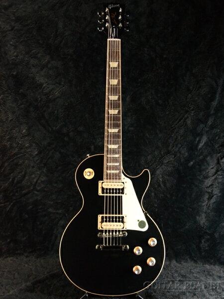 GibsonLesPaulClassic-Ebony-新品 ギブソン  クラシック  Black,エボニー,ブラック,黒  レス
