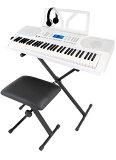 ONETONE OTK-61S WH【スタンド・椅子・ヘッドフォン付!】 新品 キーボード[ワントーン][61鍵盤][Keyboard,Digital Piano,電子ピアノ,デジタル,エレピ][OTK61S]