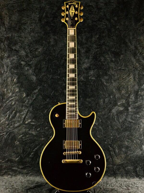 ギター, エレキギター Orville by Gibson Limited Edition LPC-57B -EB- 1994Ebony,,,Les Paul Custom,LP,Electric Guitar,used