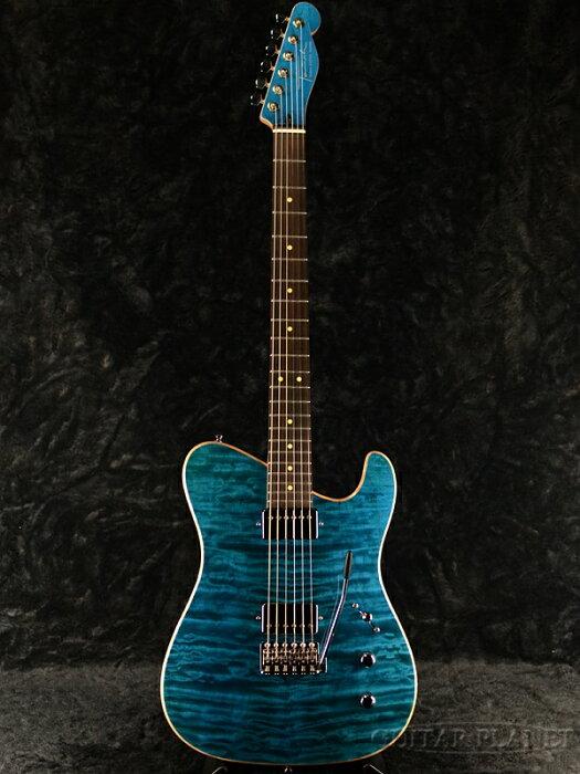【当店カスタムオーダー品】Tausch Electric Guitars 665 DELUXE -Azul Blue- 新品[ライナータウシュ][デラックス][アズールブルー,青][Telecaster,テレキャスタータイプ][Electric Guitar,エレキギター]