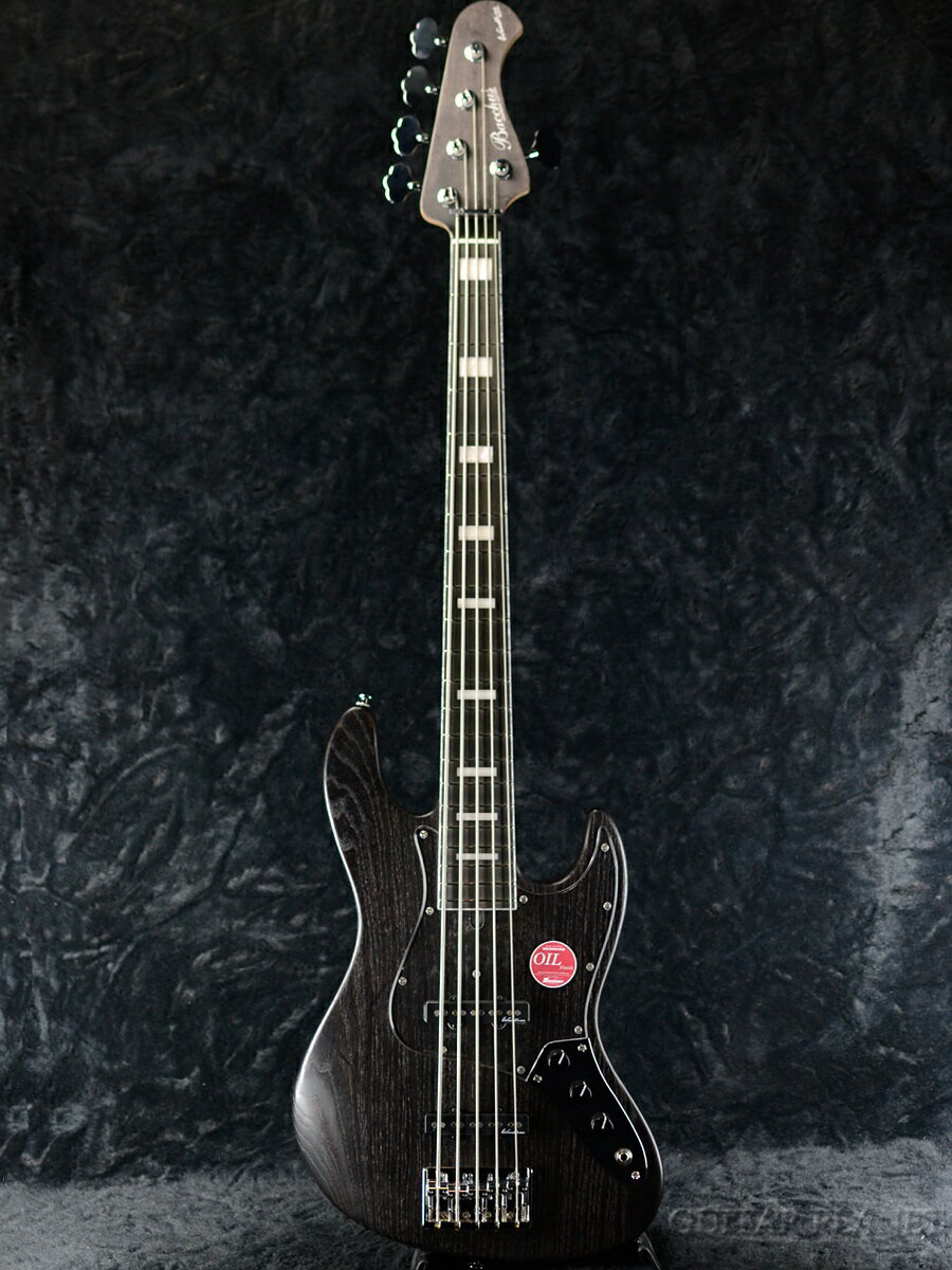 ベース, エレキベース Bacchus WOODLINE 517 -Black oil- 143824.49kg 5,Jazz Bass,