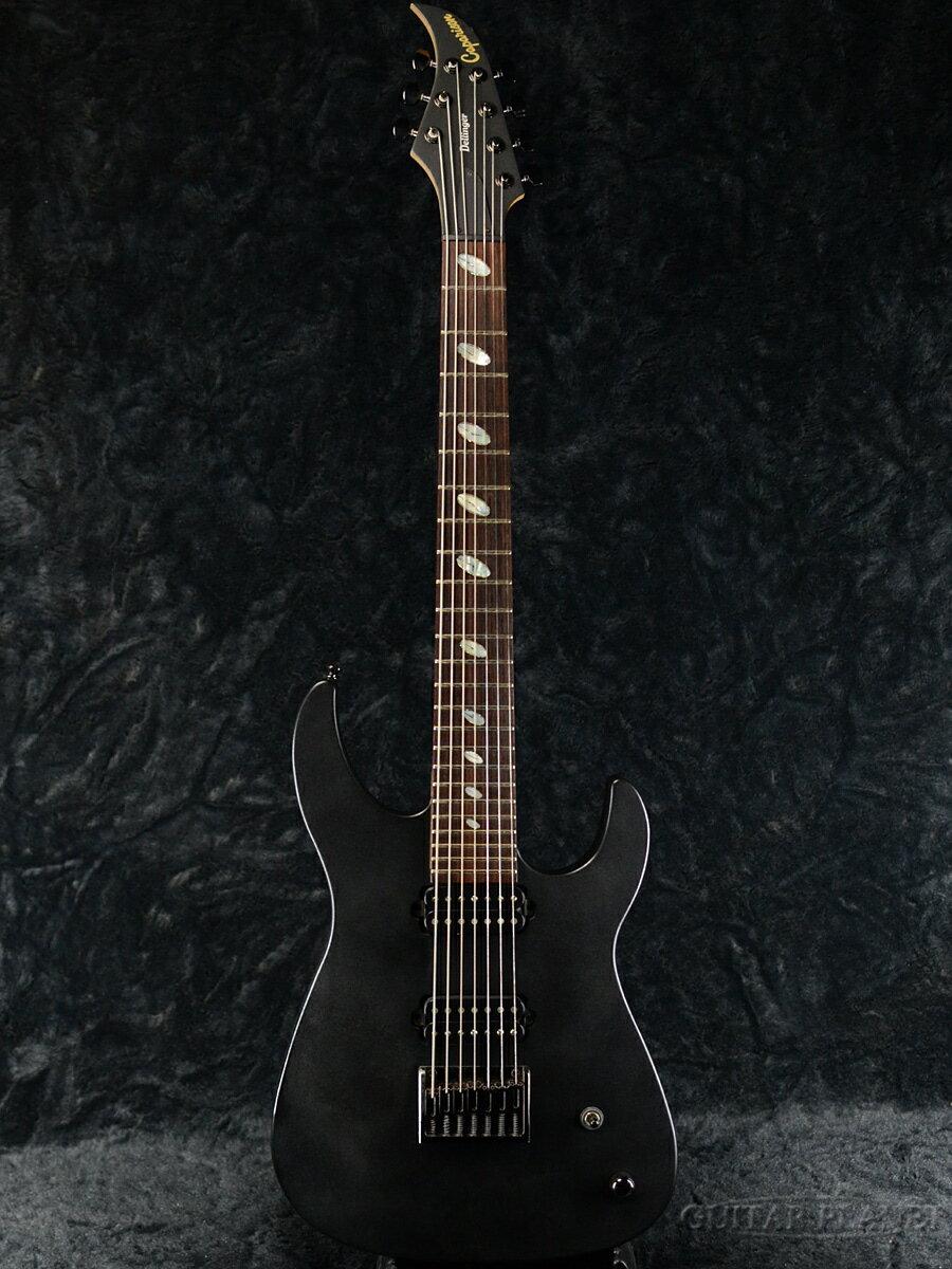 ギター, エレキギター Caparison Dellinger7FX - Pro Black-2009-7,Electric Guitar,used