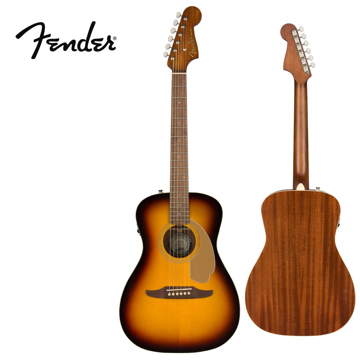 ギター, アコースティックギター Fender Malibu Player -Sunburst- Electric Acoustic Guitar,,,