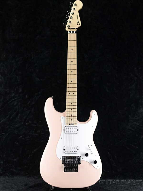 ギター, エレキギター Charvel Pro-Mod So-Cal Style 1 HH FR M -Satin Shell Pink Patchment Pick Guard- ,Stratocaster,Electric Guitar,
