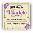 【エントリーでポイント10倍】D'Addario EJ88C Nyltech コンサートウクレレ弦セット[ダダリオ][EJ-88C][Nylon,ナイロン弦][Concert Ukulele][String]