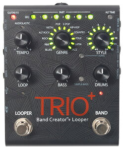 【純正アダプター付属】【送料無料】Digitech TRIO+ 新品 Band Creator + Looper[デジテック]...