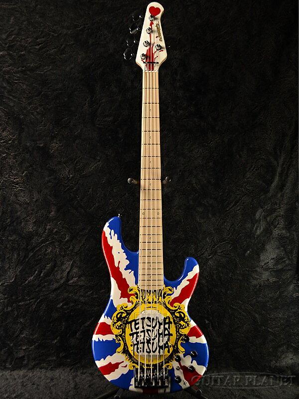 ベース, エレキベース Edwards E-T-180BD UNI ESPLArcenCiel,,tetsuya,Union Jack,Electric Bass,