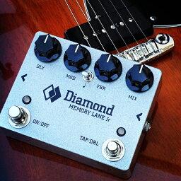 Diamond GUITAR PEDALS MEMORY LANE Jr.新品 ディレイ[ダイヤモンドギターペダル][Effector,エフェクター][MLN-Jr]