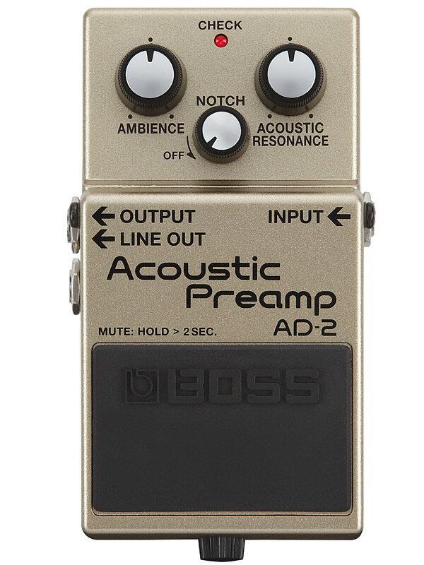 ギター用アクセサリー・パーツ, エフェクター BOSS AD-2 Acoustic Preamp,Effector