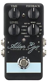 t.c.electronic Alter Ego 2新貨復古回聲/湯汁標準打數[tc電子][ALTER自己][Echo,Looper,Delay][Effector,效應器]
