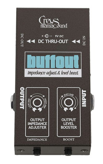 ギター用アクセサリー・パーツ, エフェクター Crews Maniac Sound buffout BufferEffector,