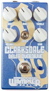 【送料無料】Wampler Pedals Clarksdale Overdrive 新品 オーバードライブ[ワンプラー][クラー...