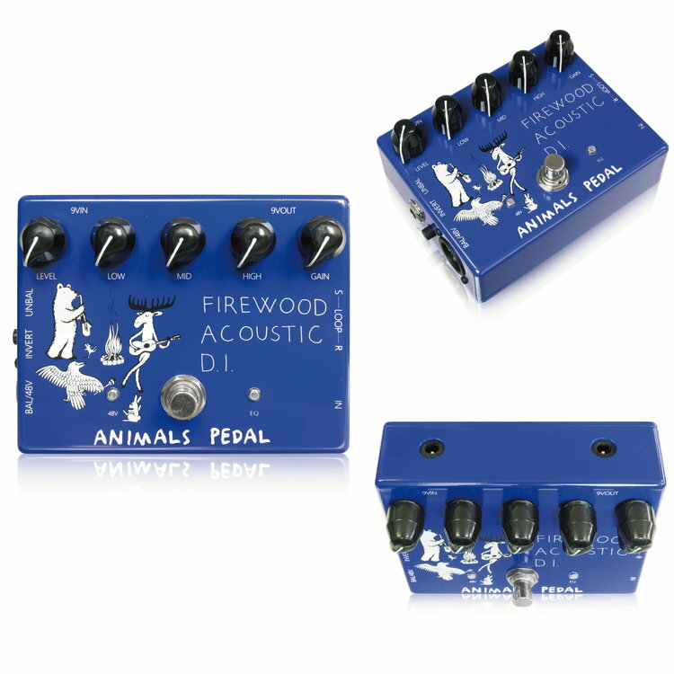 DAW・DTM・レコーダー, ダイレクトボックス Animals Pedal Firewood Acoustic D.I. Effector,
