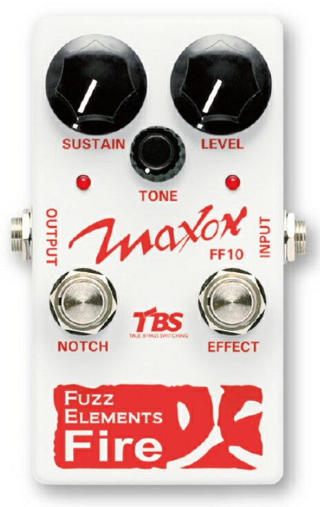 ギター用アクセサリー・パーツ, エフェクター Maxon Fuzz Elements Fire FF10 Effector,