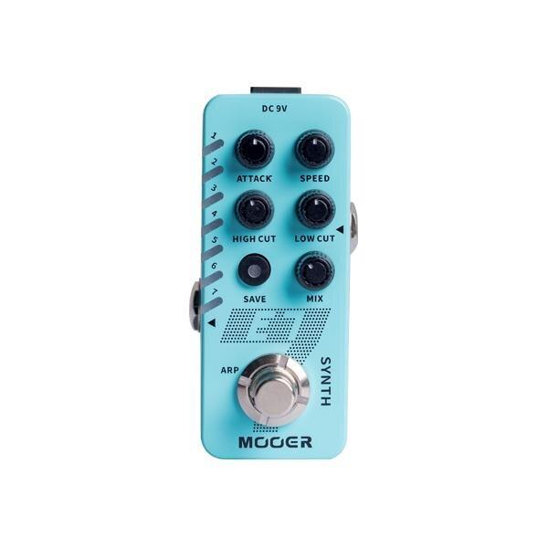 ギター用アクセサリー・パーツ, エフェクター Mooer E7 Guitar SynthesizerEffector,