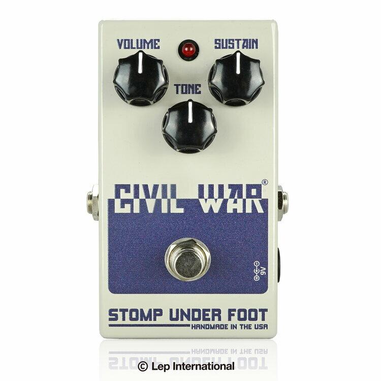 ギター用アクセサリー・パーツ, エフェクター Stomp Under Foot Civil War Fuzz,Effector,