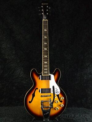 【当店モディファイ品】【送料無料】Epiphone Casino Coupe w/Bigsby B70 新品[エピフォン][カジノクーペ][セミアコ/フルアコ][Electric Guitar,エレキギター]