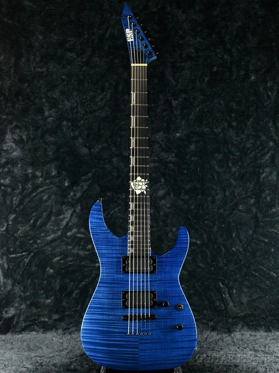 ギター, エレキギター ESP M-II SAYO II -See Thru Purple- 2020,BanG Dream!,!Roselia,Stratocaster ,Electric Guitar,used