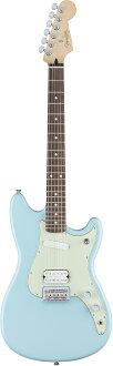 Fender DUO-SONIC HS Daphne Blue新貨[擋泥板][Offset,膠版系列][Duo聲速][dafuneburu,藍][Mustang,北美野馬Mustang,北美野馬型][Electric Guitar,電子吉他][DUOSONIC]