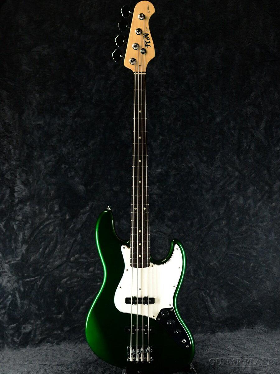 ベース, エレキベース FgN(FUJIGEN) NJB10RAL -Candy Apple Green- A2013684.40kg ,,Jazz Bass,Electric Bass,