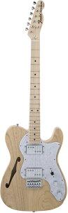 Fender Made In Japan Traditional 70s Telecaster Thinline Natural 新品 《レビューを書いて特典プレゼント!!》[フェンダージャパン][トラディショナル][ナチュラル][テレキャスターシンライン][Electric Guitar,エ