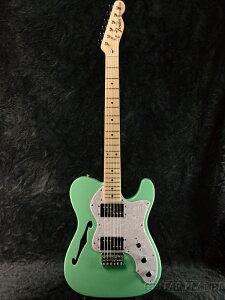 Fender Made In Japan Traditional 70s Telecaster Thinline Surf Green 新品 《レビューを書いて特典プレゼント!!》[フェンダージャパン][トラディショナル][サーフグリーン,緑][テレキャスターシンライン][Electri