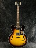 【送料無料】Gibson Custom Shop ~Historic Collection~ 1963 ES-335 Block Vingtage Sunburst #A36112 新品[ギブソンカスタムショップ][ヒストリックコレクション,ヒスコレ][ブロック][ヴィンテージサンバースト][セミアコ][Electric Guitar,エレキギター][ES335]
