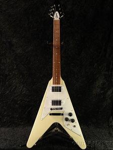 【ポイント15倍】【限定モデル】【送料無料】Gibson Japan Limited Run Flying V Classic White 2015 新品[ギブソン][フライングV][クラシックホワイト,白][Electric Guitar,エレキギター]