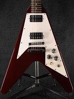 【中古】GibsonFlying'67-Cherry-1991年製[ギブソン][チェリー,レッド,赤][FV,フライングV][ElectricGuitar,エレキギター]【used_エレキギター】