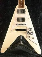 【中古】GrassRootsGRminibyESPGR-FV-32M-SnowWhite-2013年製[グラスルーツ][ESPブランド][スノーホワイト,白][FlyingV,フライングVタイプ][ミニギター][ElectricGuitar,エレキギター]【used_エレキギター】