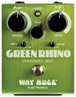 WAY HUGE Green Rhino MKII WHE-202新貨Overdrive[方法修二][綠色的犀牛][Overdrive,overdrive][效應器,Effector][WHE202]]
