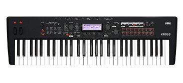 KORG KROSS 2-61-MB(Super Matte Black)新品 61鍵 ミュージック・ワークステーション[コルグ][KROSS][61keys][Synthesizer,シンセサイザー]