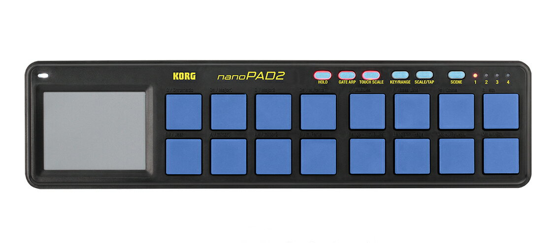 DAW・DTM・レコーダー, その他 10!!KORG nanoPAD2 BLYL 2Blue,Yellow,