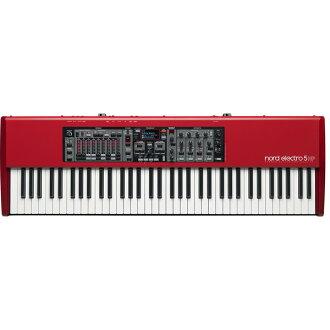 Clavia nord 電 5HP 73 新 [兩首]、 [73 鍵盤] [節點] [合成器,合成器] [鋼琴、 數碼鋼琴、 數碼鋼琴 [器官,器官] [鍵盤,鍵盤]