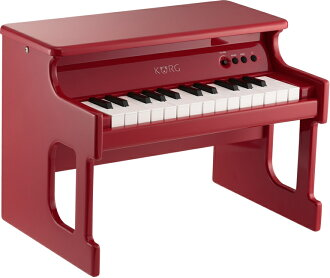 TinyPIANO KORG 數位玩具鋼琴品牌新紅 [Korg],[小鋼琴,紅色,紅色 [數碼玩具鋼琴]