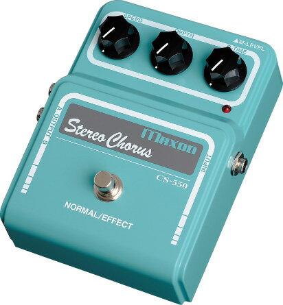 ギター用アクセサリー・パーツ, エフェクター Maxon CS550 Stereo Chorus CS-550mdl