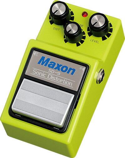 ギター用アクセサリー・パーツ, エフェクター Maxon SD9 Sonic Distortion SD-9hzm