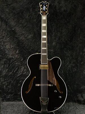 【送料無料】D'Aquisto DQ-JZ Jazz Line BK 新品[ダキスト][ジャズライン][ブラック,黒][フルアコ][Electric Guitar,エレキギター]