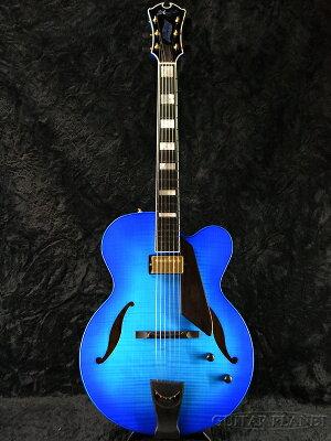 【限定カラー】【送料無料】D'Aquisto DQ-JZ Jazz Line SBL 新品[ダキスト][ジャズライン][シースルーブルー,青][フルアコ][Electric Guitar,エレキギター]